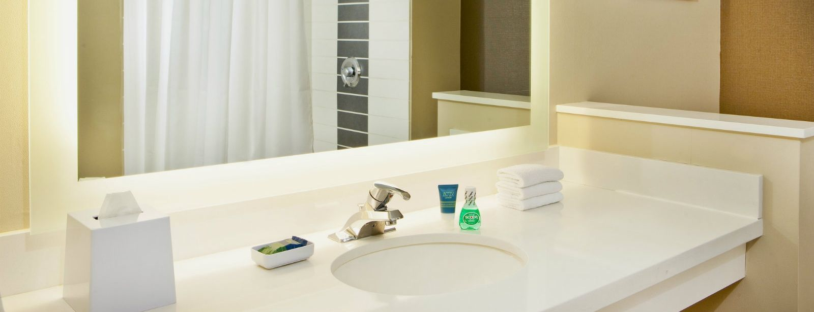 Fargo Accommodations - Accessible Room - Bath